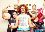 Red Foo & The Party Rock Crew : Billboards and Promotional Materials : Key Makeup, Hair and Grooming