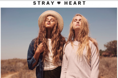 Stray Heart Collection for Junk Food Clothing s/s 2017 : Key Makeup & Hair