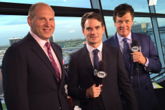NASCAR on FOX Tv Auto Club 400 : March 2015 : Grooming for Jeff Gordon, Michael Waltrip & Mike Joy